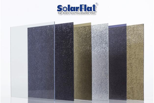 Tấm lợp lấy sáng polycarbonate đặc ruột solarFlat