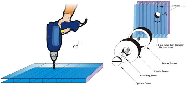 Hướng dẫn thi công tấm lợp lấy sáng polycarbonate rỗng ruột ảnh 3