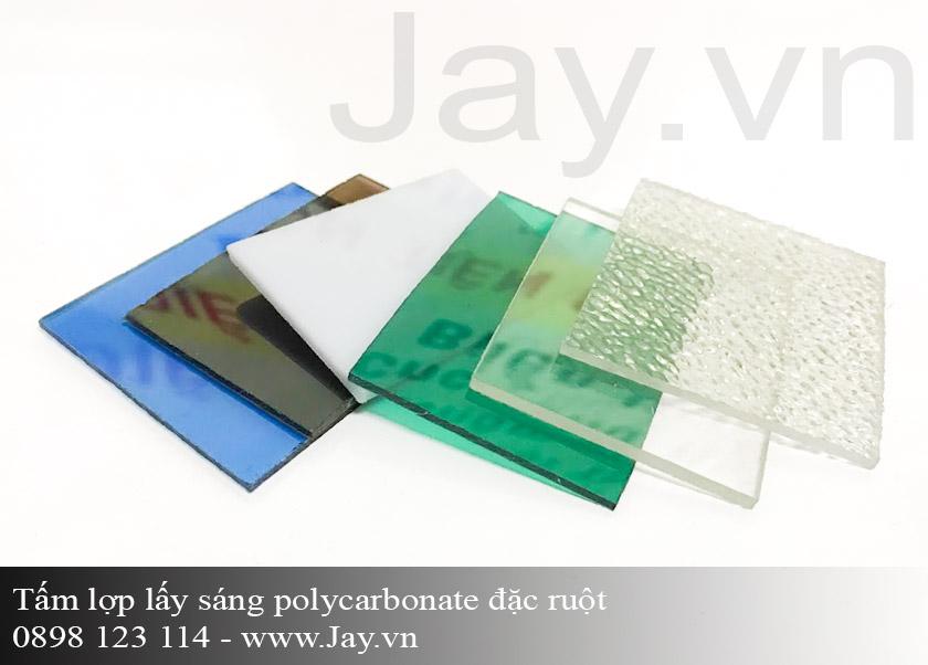 Tấm lợp lấy sáng thông minh Polycarbonate đặc ruột 2mm ảnh 3