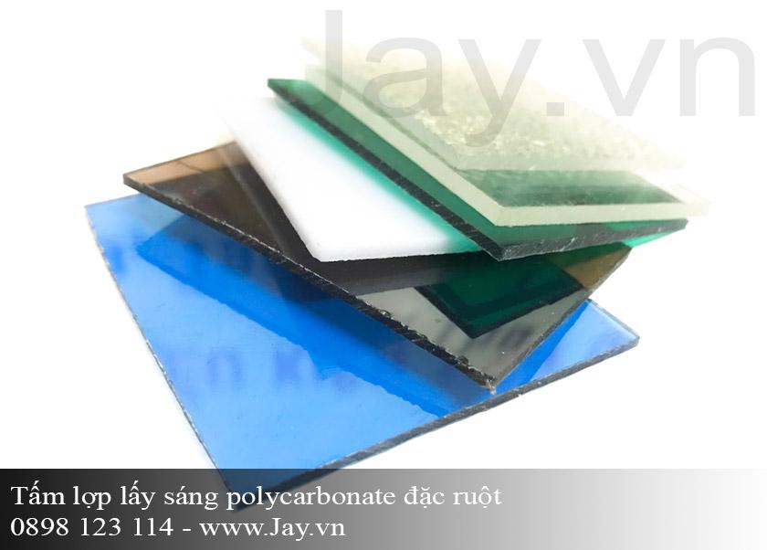 Tấm lợp lấy sáng thông minh Polycarbonate đặc ruột 3mm ảnh 1