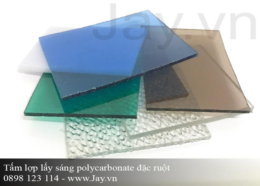 Tấm lợp lấy sáng thông minh Polycarbonate đặc ruột 4mm ảnh 1