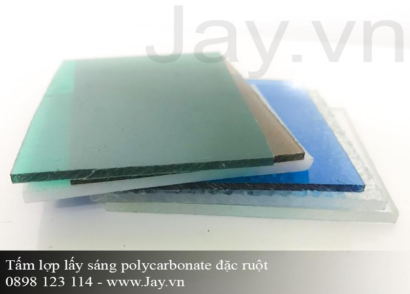 Tấm lợp lấy sáng thông minh Polycarbonate đặc ruột 4mm ảnh 2