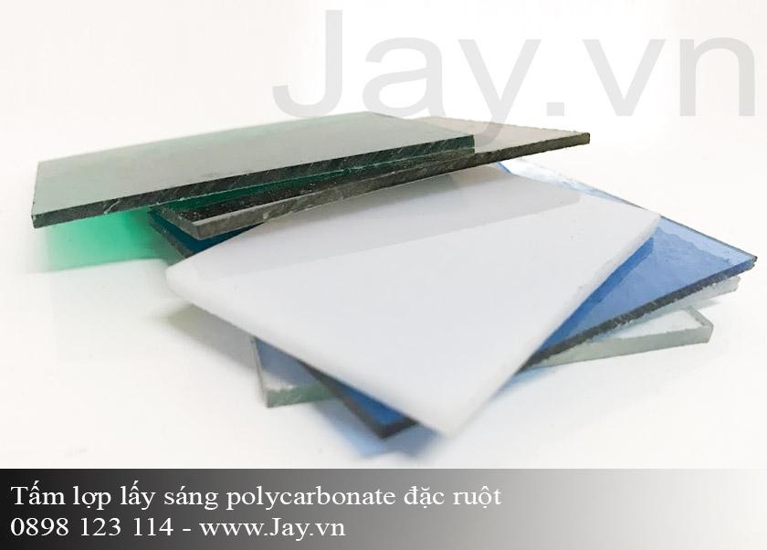 Tấm lợp lấy sáng thông minh Polycarbonate đặc ruột 5mm ảnh 1