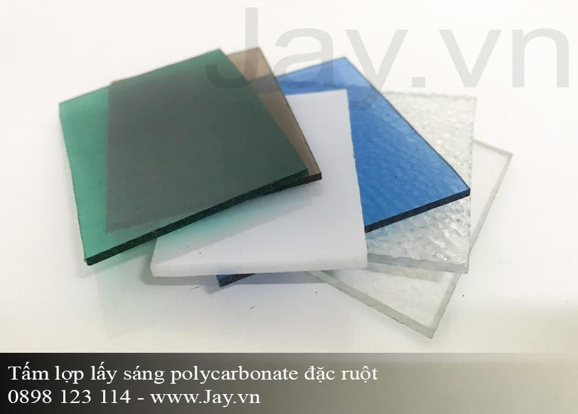 Tấm lợp lấy sáng thông minh Polycarbonate đặc ruột 5mm ảnh 2