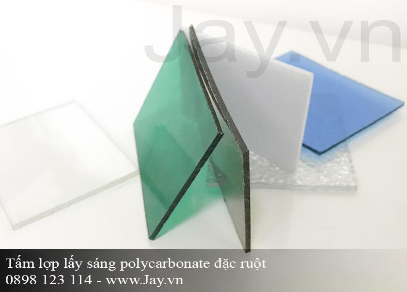 Tấm lợp lấy sáng thông minh Polycarbonate đặc ruột 5mm ảnh 3