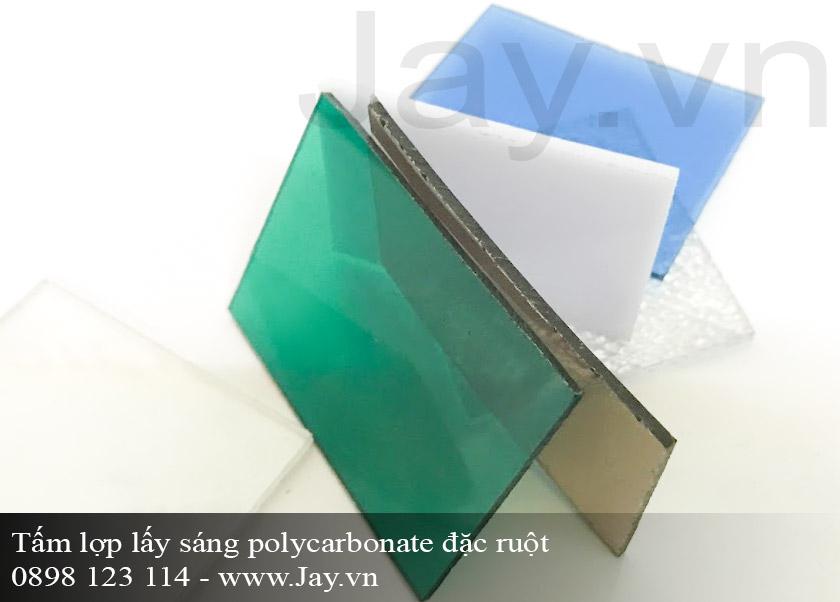 Tấm lợp lấy sáng thông minh Polycarbonate đặc ruột 6mm ảnh 1