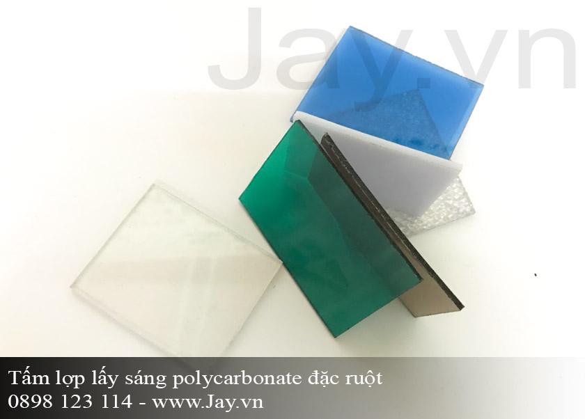 Tấm lợp lấy sáng thông minh Polycarbonate đặc ruột 6mm ảnh 2