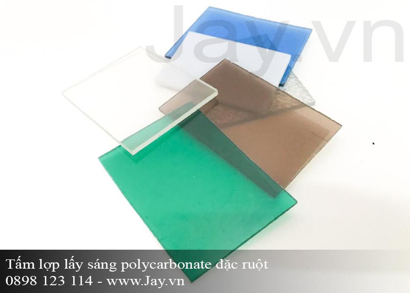 Tấm lợp lấy sáng thông minh Polycarbonate đặc ruột 6mm ảnh 3