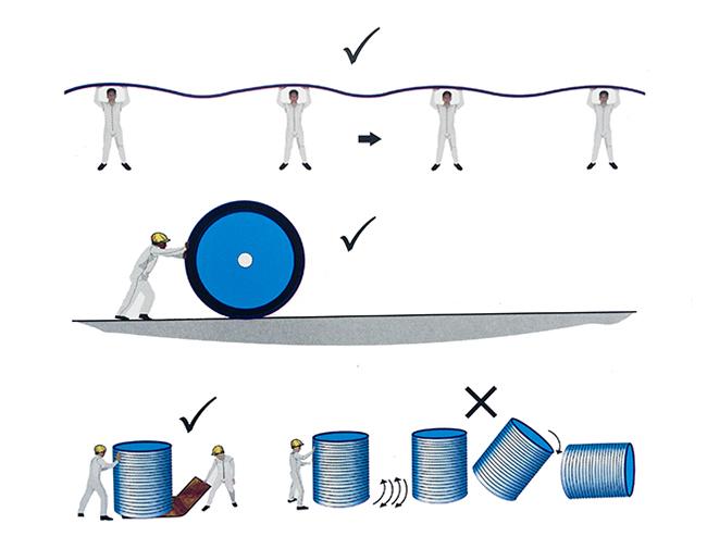 Cách vận chuyển tấm polycarbonate 1